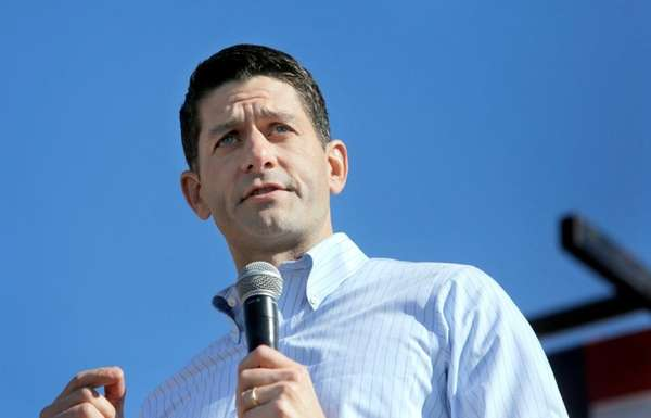 House Speaker Paul Ryan speaks during the 1st