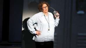 Anna Deavere Smith performs her play at the