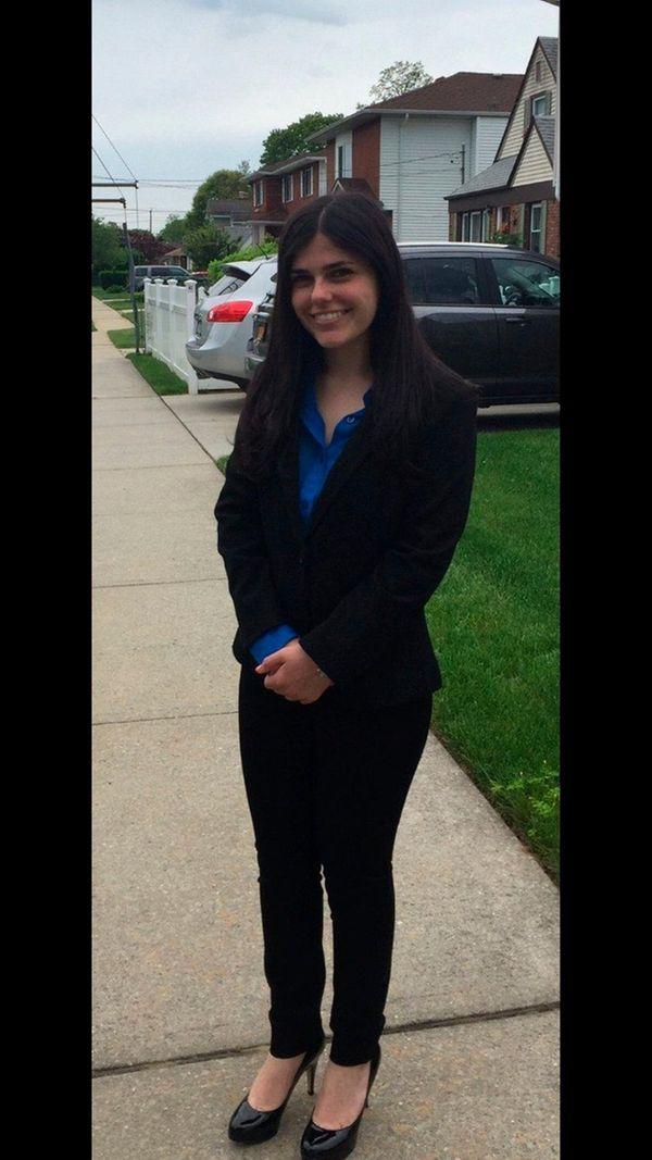 Alexis Chiofalo, a senior at Oceanside High School,