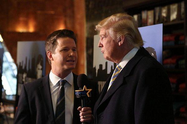 Billy Bush interviews Donald Trump on