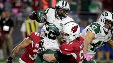 New York Jets running back Matt Forte is
