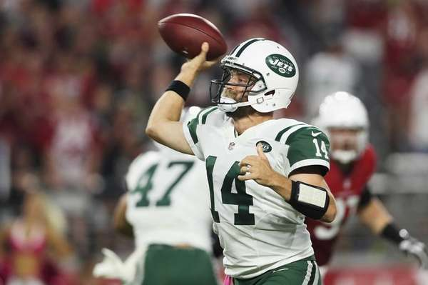 Quarterback Ryan Fitzpatrick of the New York Jets
