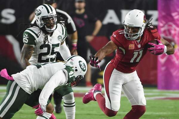 Wide receiver Larry Fitzgerald of the Arizona Cardinals