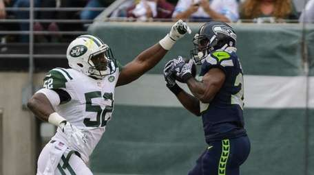 Seahawks' C.J. Spiller scores on New York Jets