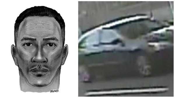 Police released a sketch of the suspect in