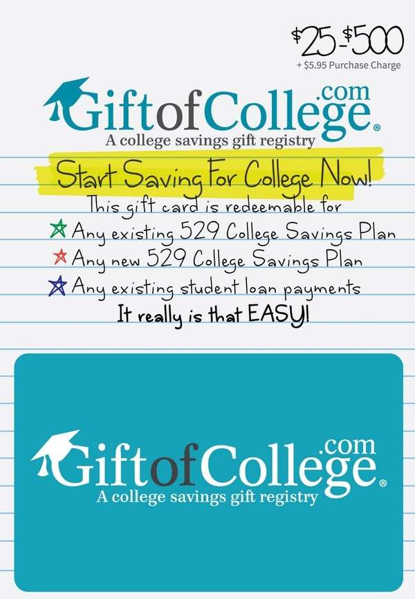 Beginning Nov. 7, physical, plastic, Gift of College