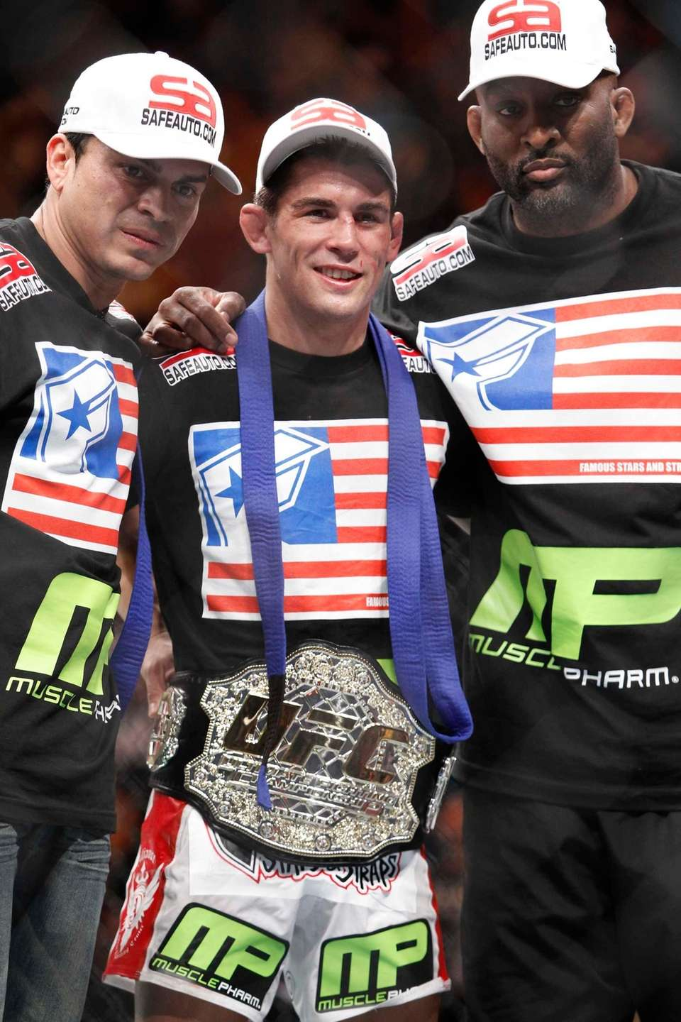 Successful title defenses: 2 Cruz was named the