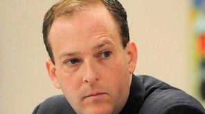 Rep. Lee Zeldin (R-Shirley) faces Democrat Anna Throne-Holst