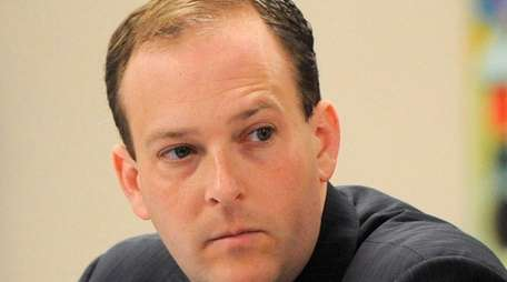 Rep. Lee Zeldin (R-Shirley) faces Democrat Anna Throne-Holst
