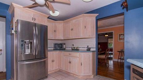 The large, open kitchen in Marion Tucker's Glen
