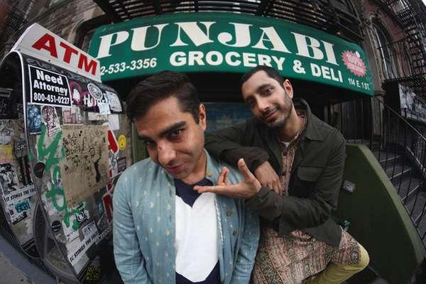 Swet Shop Boys -- Hicksville's Heems, left, and