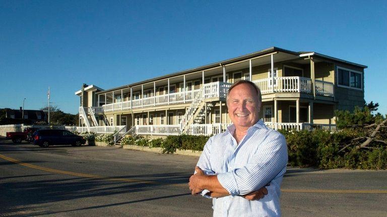 Ken Walles, owner of the Oceanside Beach Resort