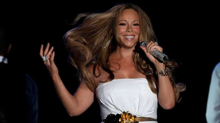 Mariah Carey performs in Monaco on June 2,