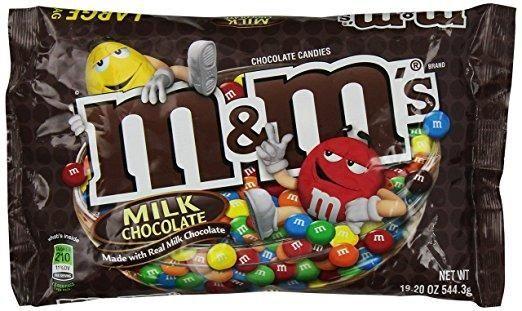 M&M's: 33,947 pounds