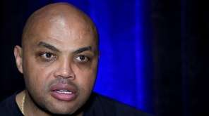 Former NBA player and TNT commentator Charles Barkley