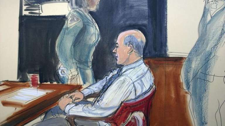 In this Jan. 30, 2015 courtroom file sketch,