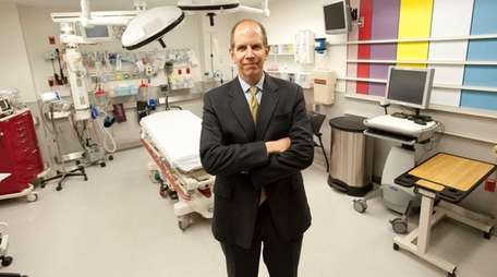Robert Chaloner, president and CEO of Southampton Hospital,