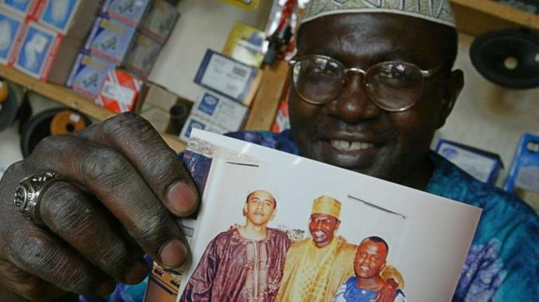 Malik Obama, the older brother of President Barack