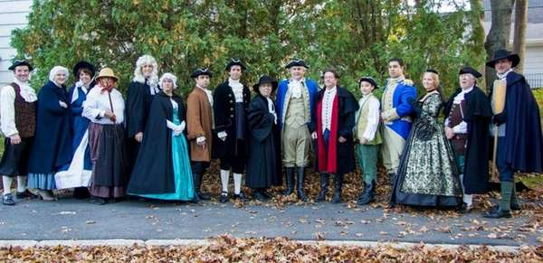 The Three Village Historical Society leads the Spirits
