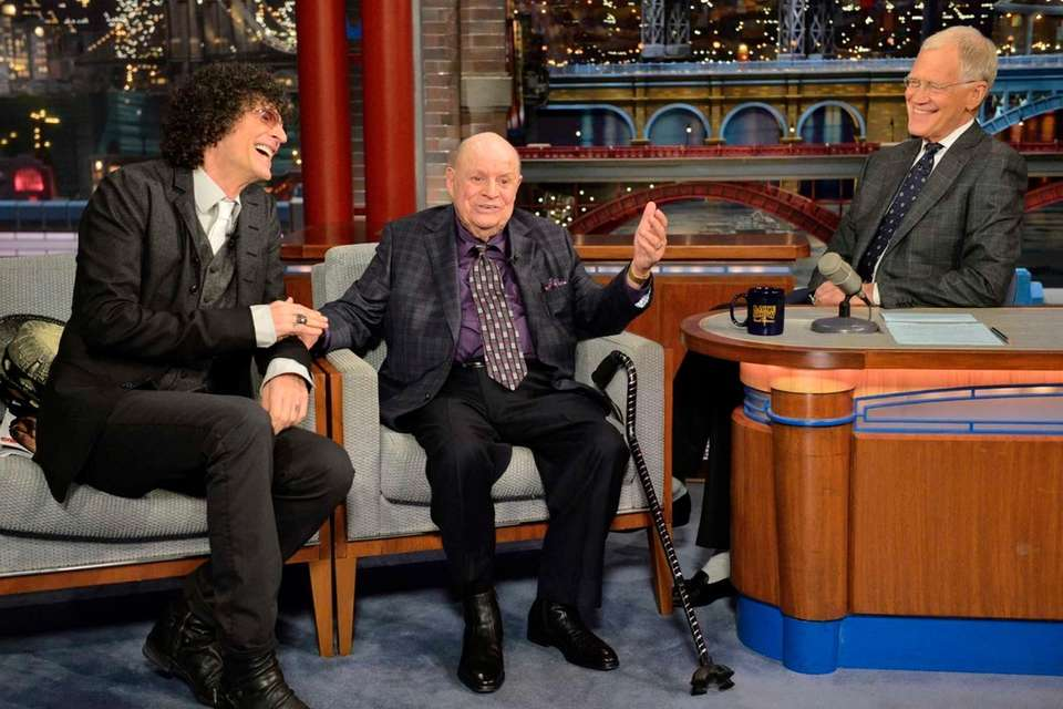 Howard Stern and Don Rickles say farewell to