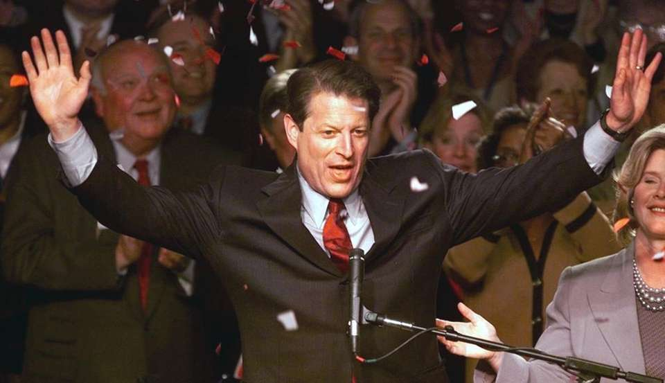 In 2000, the editorial board endorsed Al Gore,