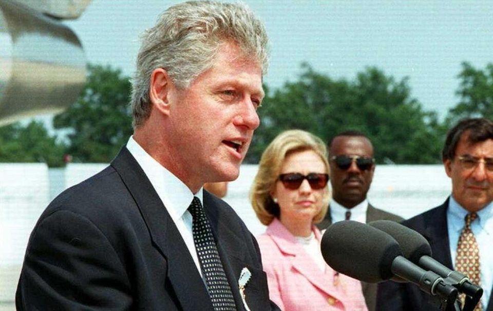In 1996, the editorial board endorsed Bill Clinton,