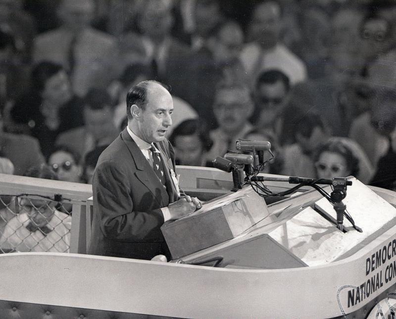 In 1956, the editorial board endorsed Adlai Stevenson,