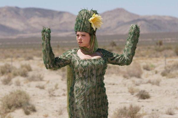Rachel Bloom as Rebecca in one of the
