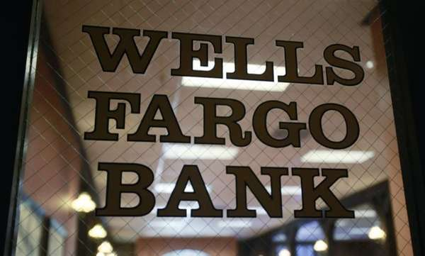 A Wells Fargo Bank in Palo Alto, Calif.,