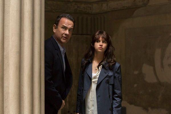 Tom Hanks and Felicity Jones look for a