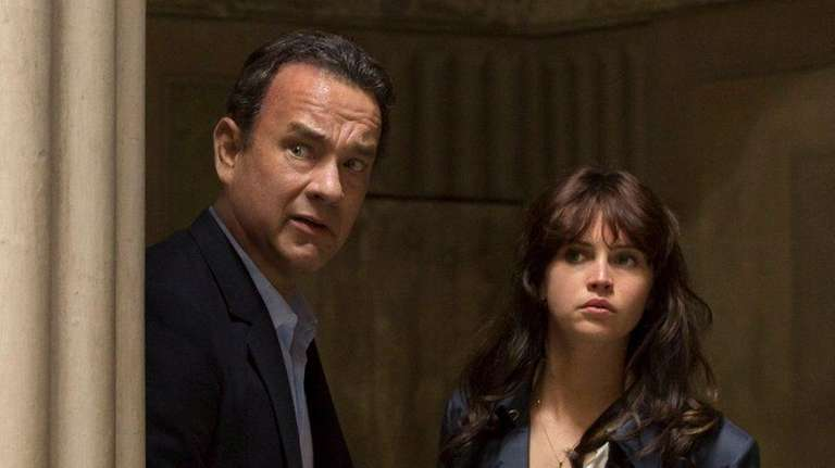 Tom Hanks and Felicity Jones look for a
