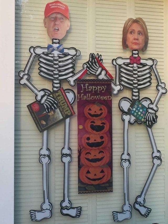 Decorating for this scary time of year... and,