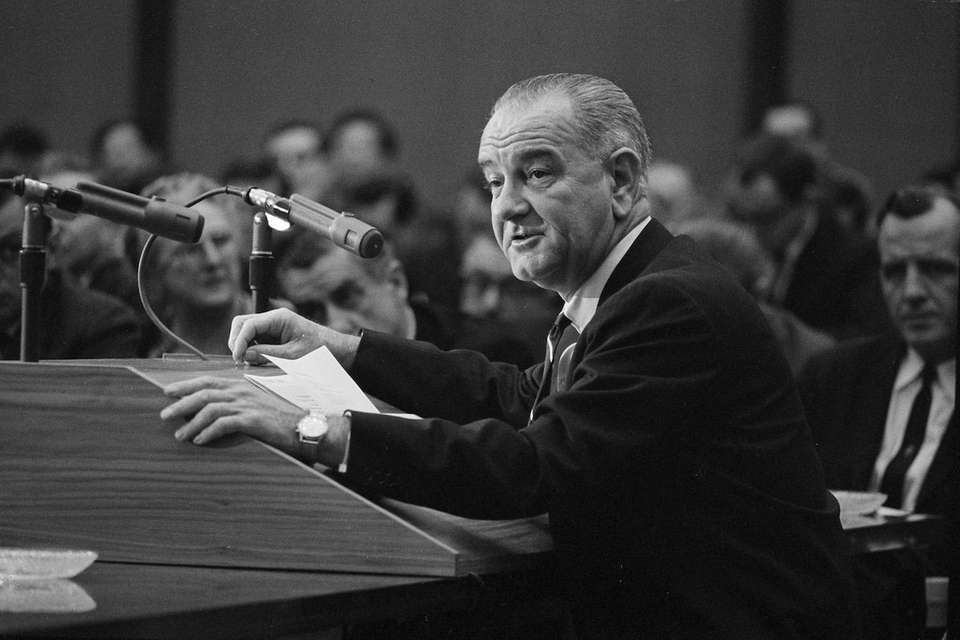 In 1964, the editorial board endorsed Lyndon B.