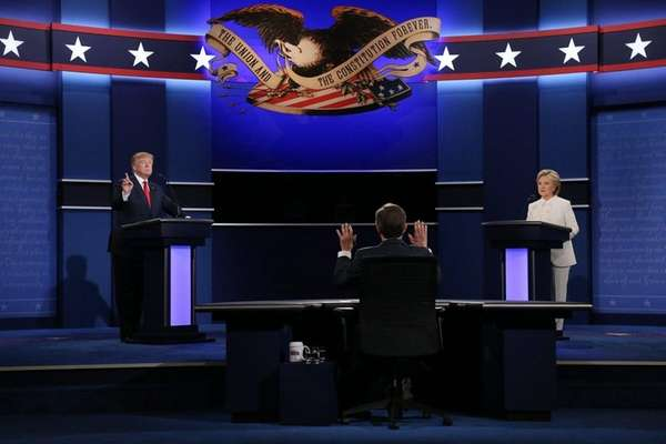 Donald Trump and Hillary Clinton discussed abortion laws,