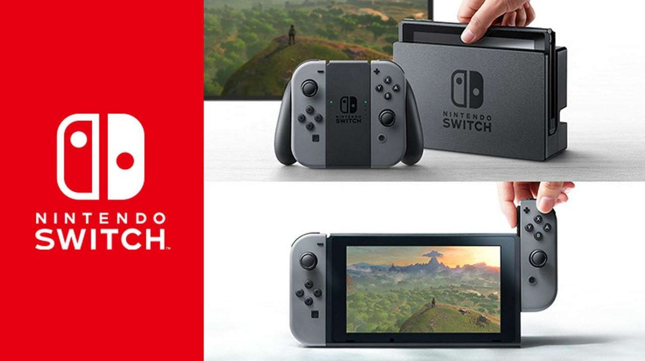 The Nintendo Switch will be available in March