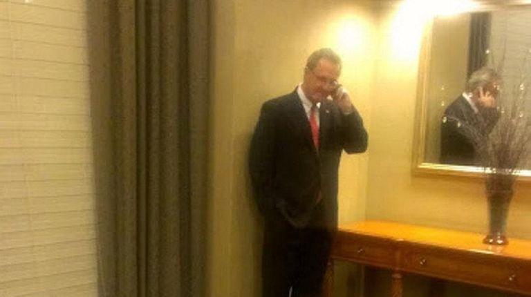 Republican congressional candidate Joe Carvin ran unsuccessfully against
