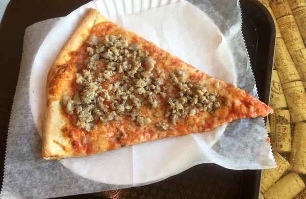 Monaco's Pizzeria in Hicksville uses a gas-powered brick