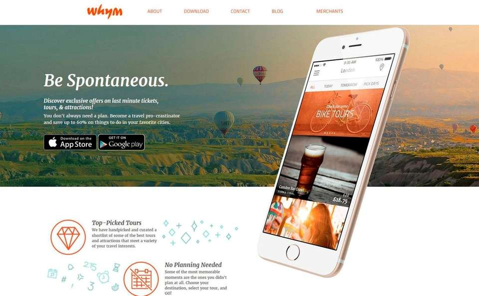 NAME Whym: Last-Minute Tickets, Tours & Attractions WHAT