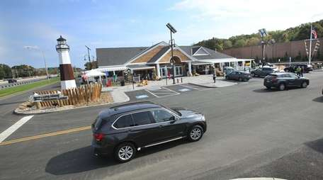 The new Long Island Welcome Center located on