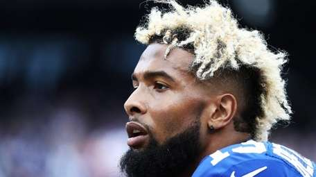 The Giants are hoping that Odell Beckham Jr.