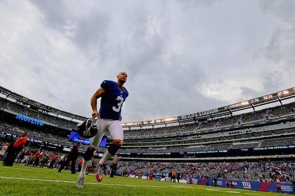 Kicker Josh Brown #3 of the New York