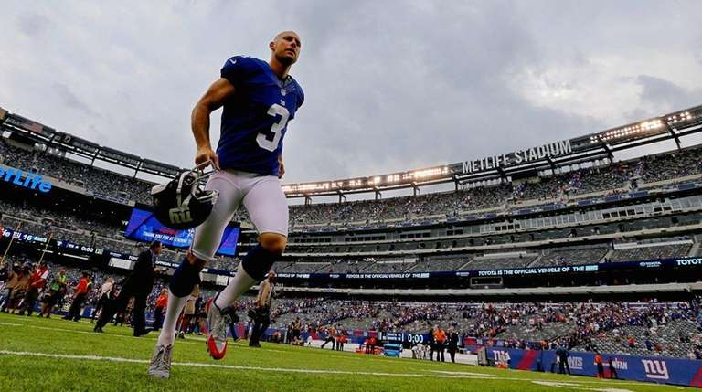 Kicker Josh Brown #3 of the New York