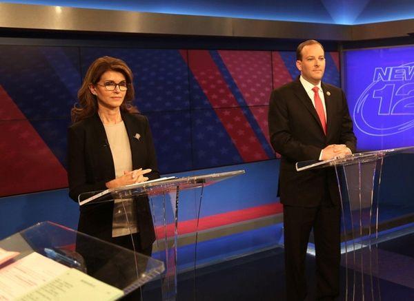 First District candidates Democrat Anna Throne-Holst and Rep.
