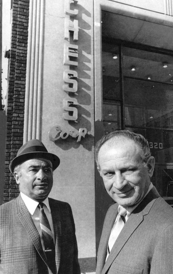 In this undated photo from left, Phil Chess