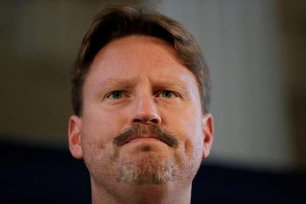 New York Giants head coach Ben McAdoo answers