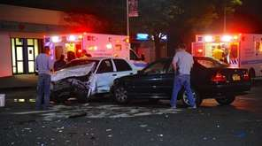 Police respond to an accident Thursday, Oct. 20,
