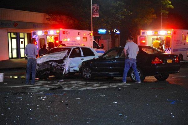 A two-vehicle crash Thursday night, Oct. 20, 2016,