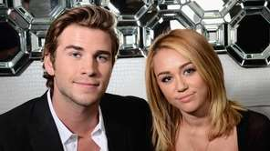 Miley Cyrus and Liam Hemsworth, Justin Timberlake and