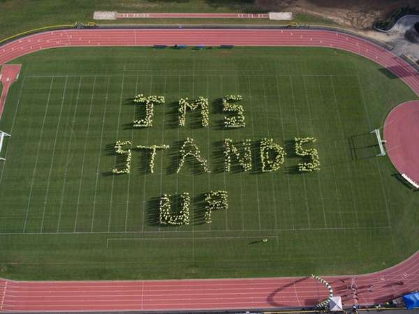 Jericho Middle School's 750 students star in a