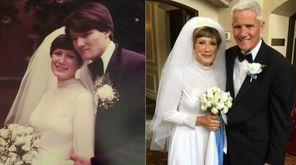 This composite shows Linda and Scott Fairgrieve of